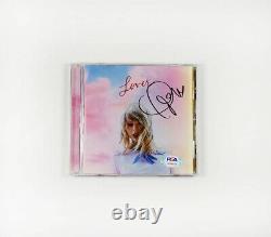 Taylor Swift Lover Signed Autographed CD PSA/DNA COA