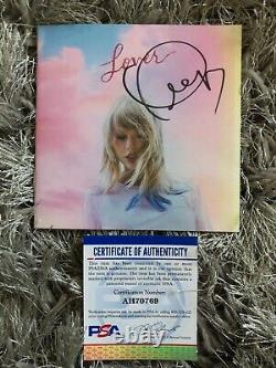 Taylor Swift Signed LOVER CD Cover/Booklet AUTOGRAPHED PSA/DNA COA