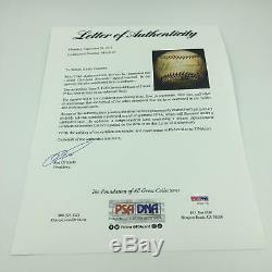 The Finest Grover Cleveland Alexander Single Signed Baseball PSA DNA & JSA COA