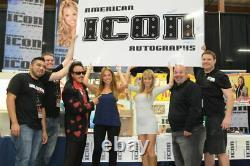 Tiny Lister Zeus & Hulk Hogan Signed No Holds Barred 8x10 Photo PSA/DNA COA WWE