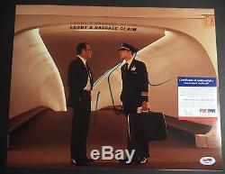 Tom Hanks & Leonardo Dicaprio Catch Me If You Can Signed 11x14 Photo Psa/dna Coa