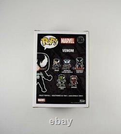 Tom Hardy Marvel Venom Autographed Signed Funko Pop Authentic PSA/DNA COA