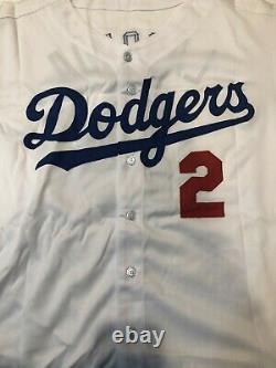 Tommy Lasorda Los Angeles Dodgers Signed Autographed Jersey #2 PSA/DNA with COA