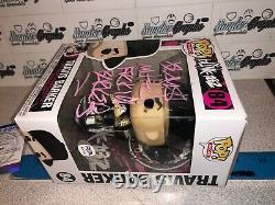 Travis Mutha F Barker Blink 182 Signed Autographed Funko Pop-psa Dna Coa Psadna