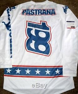 Travis PASTRANA Signed #199 Stars & Stripes Jersey Lg X Games PSA/DNA COA