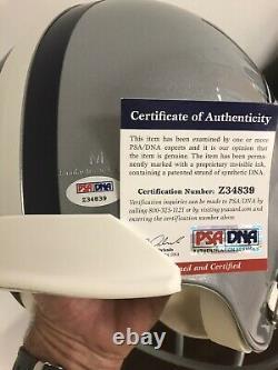 Troy Aikman signed Full Size Replica Helmet PSA/DNA COA