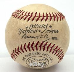 Ty Cobb Single Signed Autographed National League Baseball With PSA DNA COA