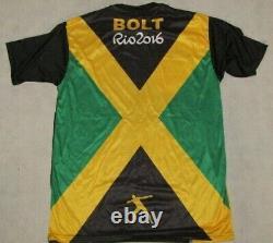 USAIN BOLT Hand Signed RIO 2016 Jersey + PSA DNA COA BUY GENUINE BOLT