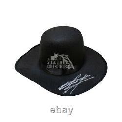 Undertaker Autographed Hat PSA/DNA COA