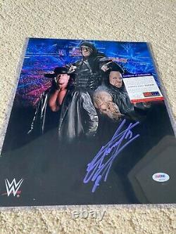 Undertaker Signed Autographed Auto Mint WWE 11x14 Photo Pic PSA DNA COA