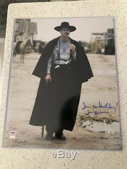 Val Kilmer Doc Holliday Tombstone Autographed 16x20 PSA/DNA COA