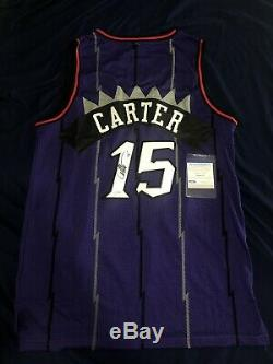 Vince Carter signed autographed Toronto Raptors jersey! PSA/DNA COA