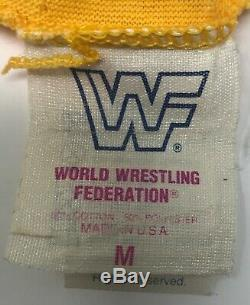 Vintage HULK HOGAN Signed WWF Original HULK RULES Tank Top Shirt WWE PSA/DNA COA