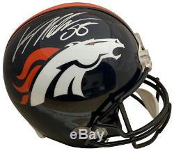 Von Miller Autographed Denver Broncos Full Size Football Helmet PSA DNA COA