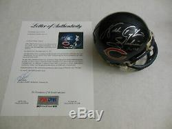 Walter Payton Autographed Signed Chicago Bears Mini Helmet PSA DNA COA