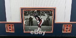 Walter Payton Framed Jersey Signed PSA/DNA COA Autographed Chicago Bears