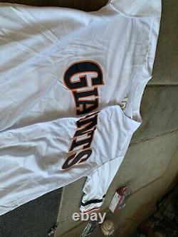 Will Clark Signed San Francisco Giant 1989 World Series Jersey PSA/DNA COA