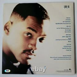 Will Smith Signed Big Willie Style Vinyl PSA/DNA COA #AH50164 Autograph