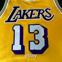 Wilt Chamberlain 1972 Champs Signed Los Angeles Lakers Game Jersey PSA DNA COA