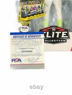 Wwe Sting Hand Signed Autographed Elite 62 Toy Action Figure With Psa Dna Coa