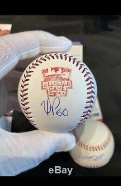 Yasiel Puig Signed 2014 All Star Baseball PSA DNA Coa Cincinnati Reds Dodgers
