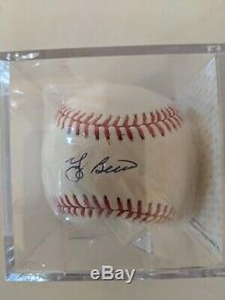 Yogi Berra Signed Baseball Autographed PSA/DNA COA New York Yankees HOF