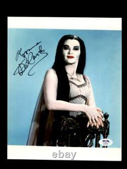 Yvonne DeCarlo PSA DNA Coa Signed 8x10 The Munsters Photo Autograph