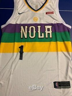 Zion Williamson Signed Jersey PSA/DNA COA New Orleans Pelicans City Edition